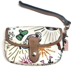 Dooney & Bourke Disney Parks Sketch Wrislet
